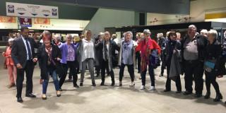Un flashmob pour célébrer la Journée nationale des aînés