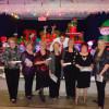 Danse en ligne: souper de Noël